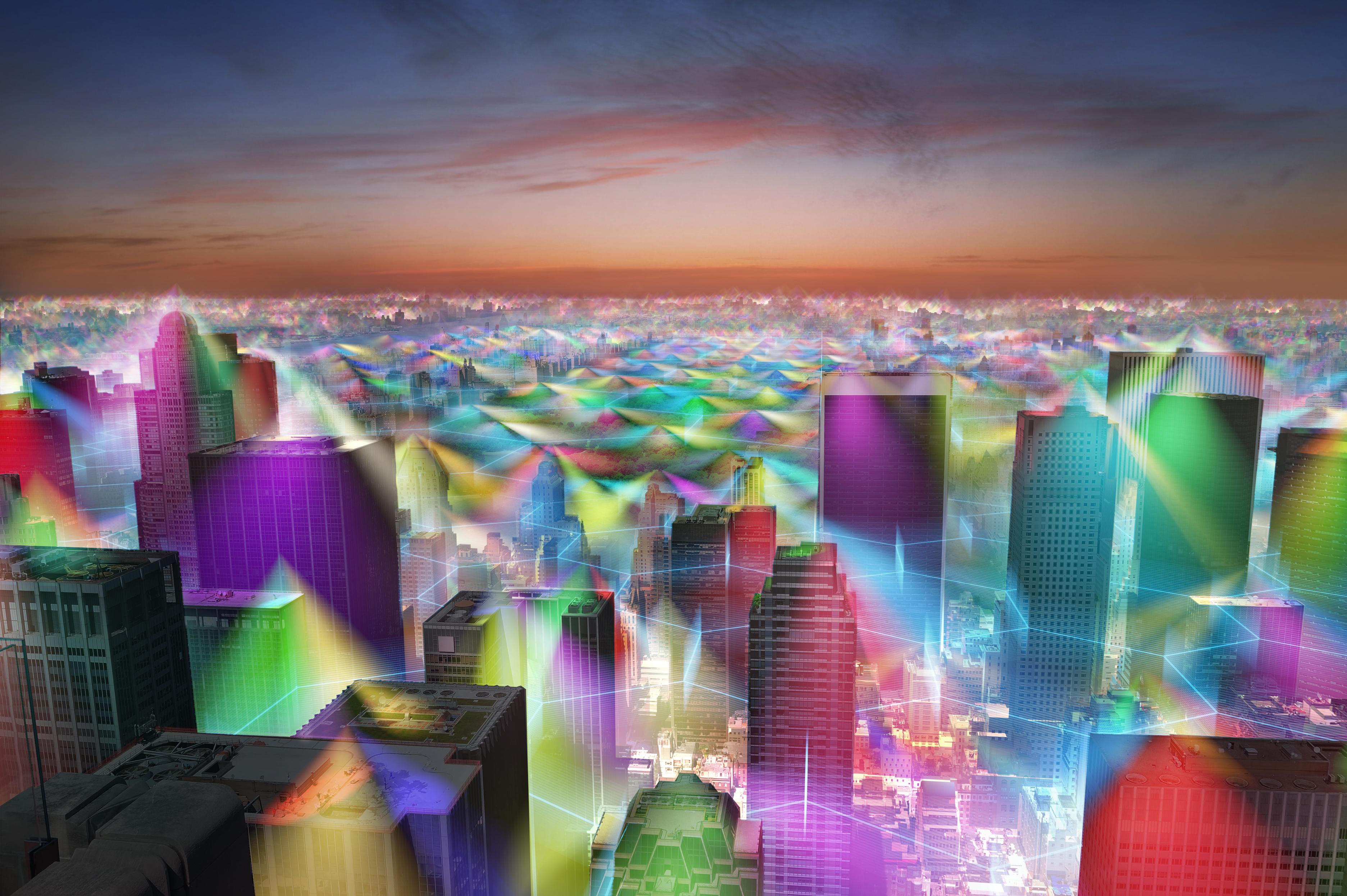 vizualizacia mikrovlnneho ziarenia
